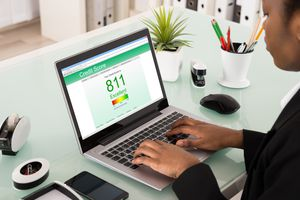 Your credit score can vary slightly depending on the scoring model and which bureau's data is used.
